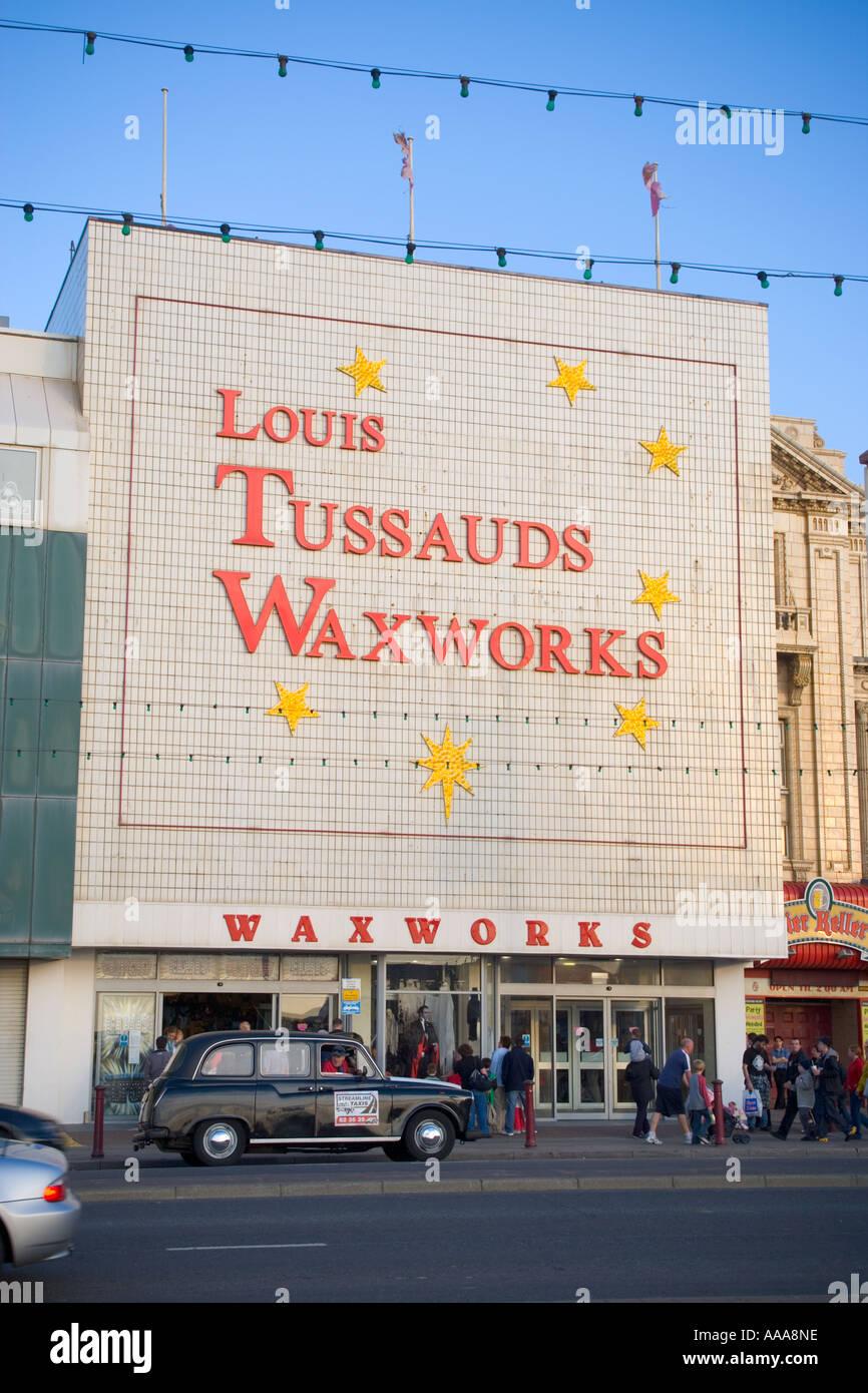 Louis Tussauds Waxworks,Blackpool,Lancashire,Prom,Lancs,UK,GB,England,English, - Stock Image