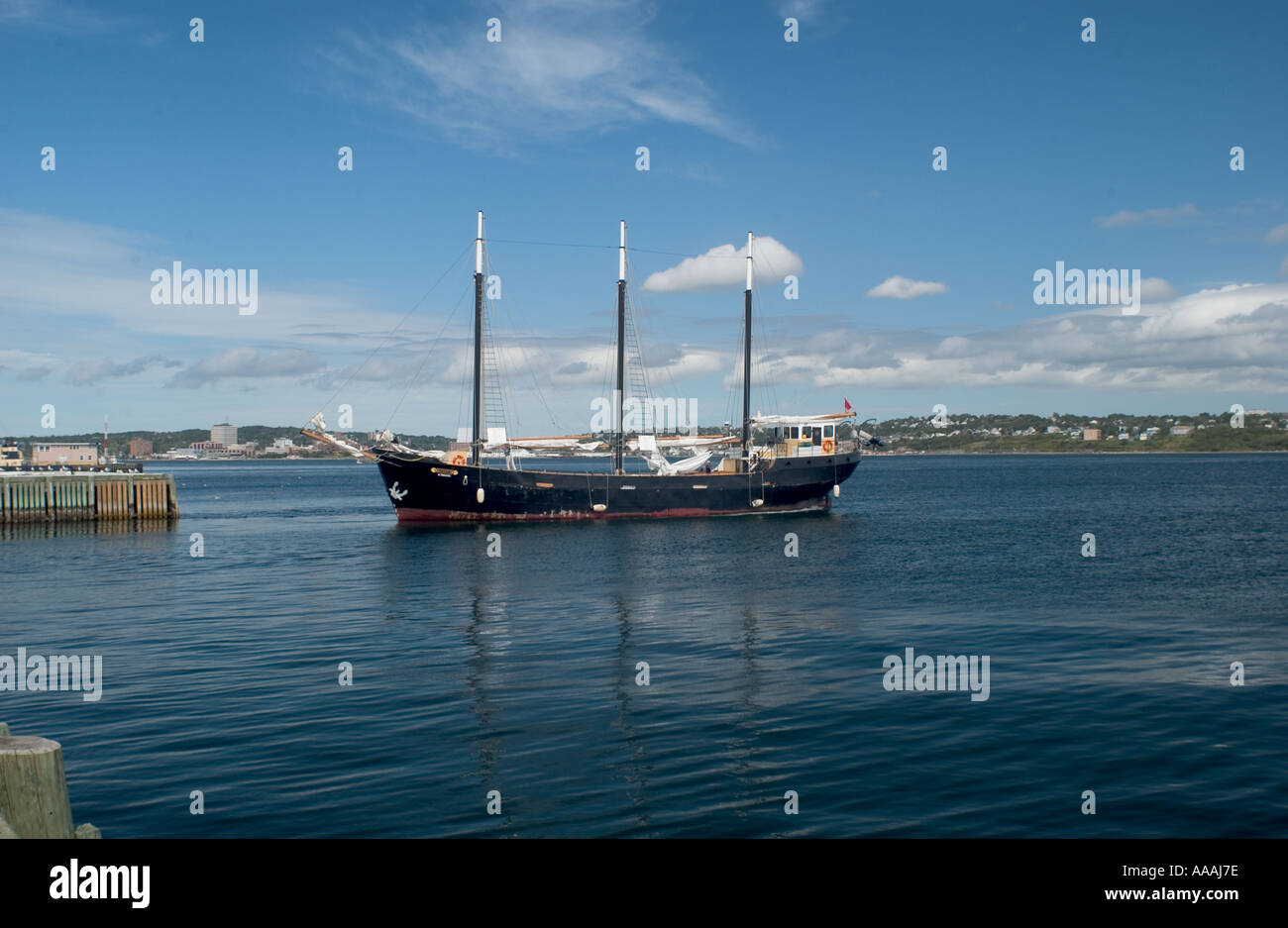 DHP99918 Pirate Boat Halifax Canada North America - Stock Image