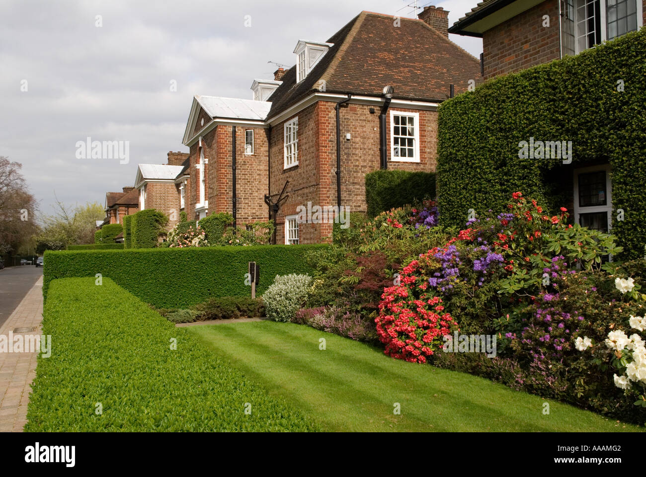 Hampstead Garden Suburb Suburban Street Stock Photos & Hampstead ...