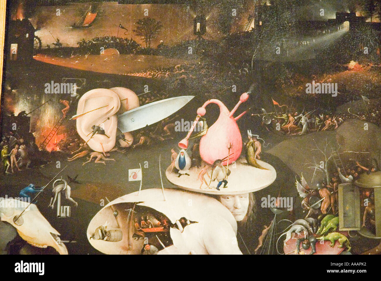 Garden Of Earthly Delights Painting By Hieronymus Bosch
