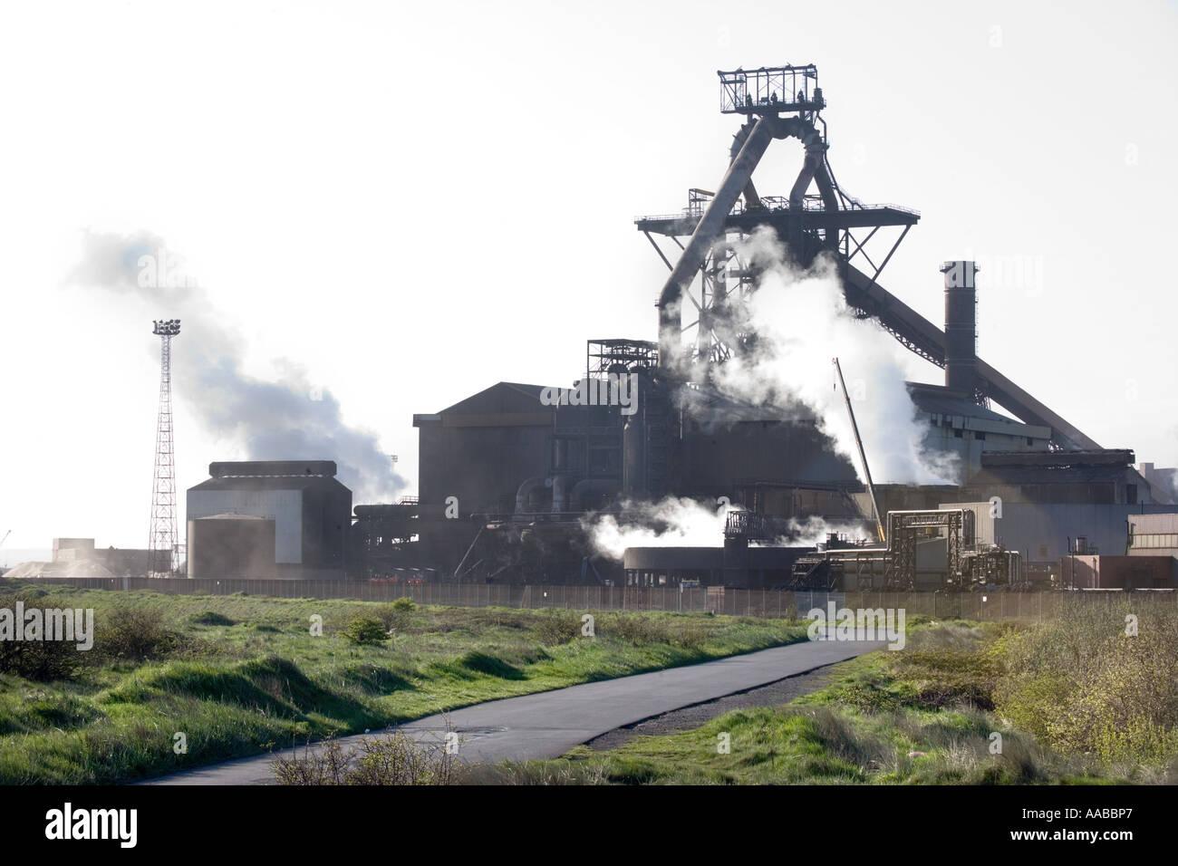 Redcar steelworks, Teeside, UK - Stock Image