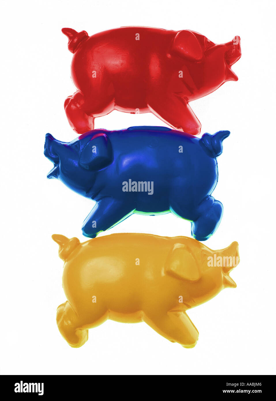 good luck; pig - Stock Image