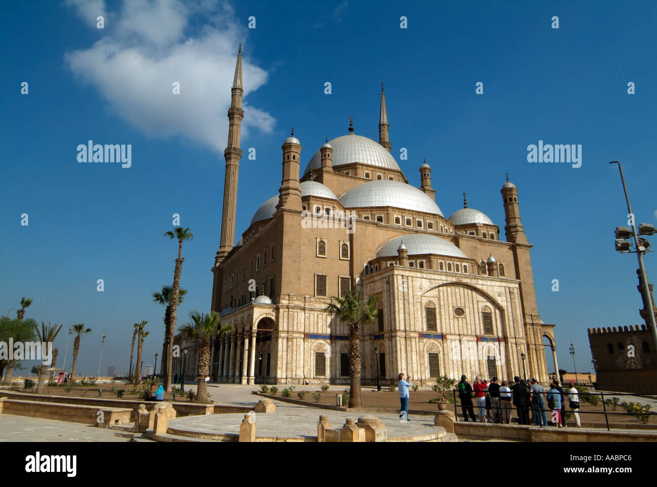 Muhammad Ali Mosque, Citadel, Cairo, Egypt - Stock Image