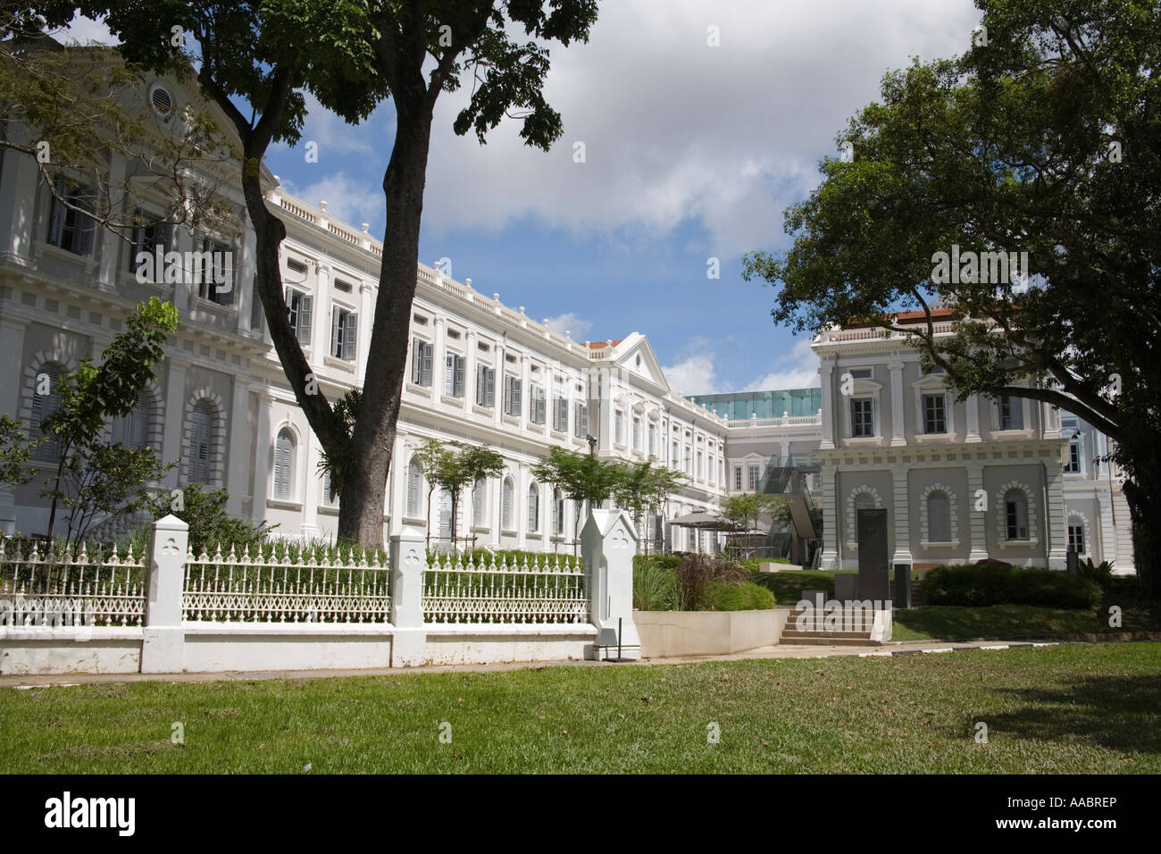 SINGAPORE CITY ASIA May Singapore Art Museum opened in 1996 is housed in the restored 19thc St Josephs Institution - Stock Image