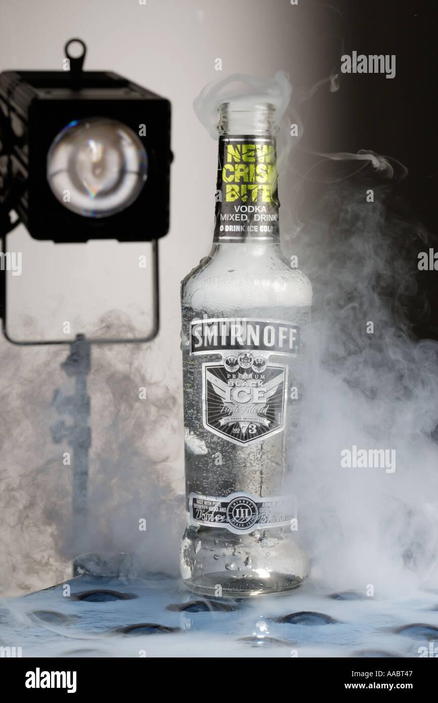 Vodka alcopop smirnoff ice stock photos vodka alcopop for Vodka and iced tea drinks