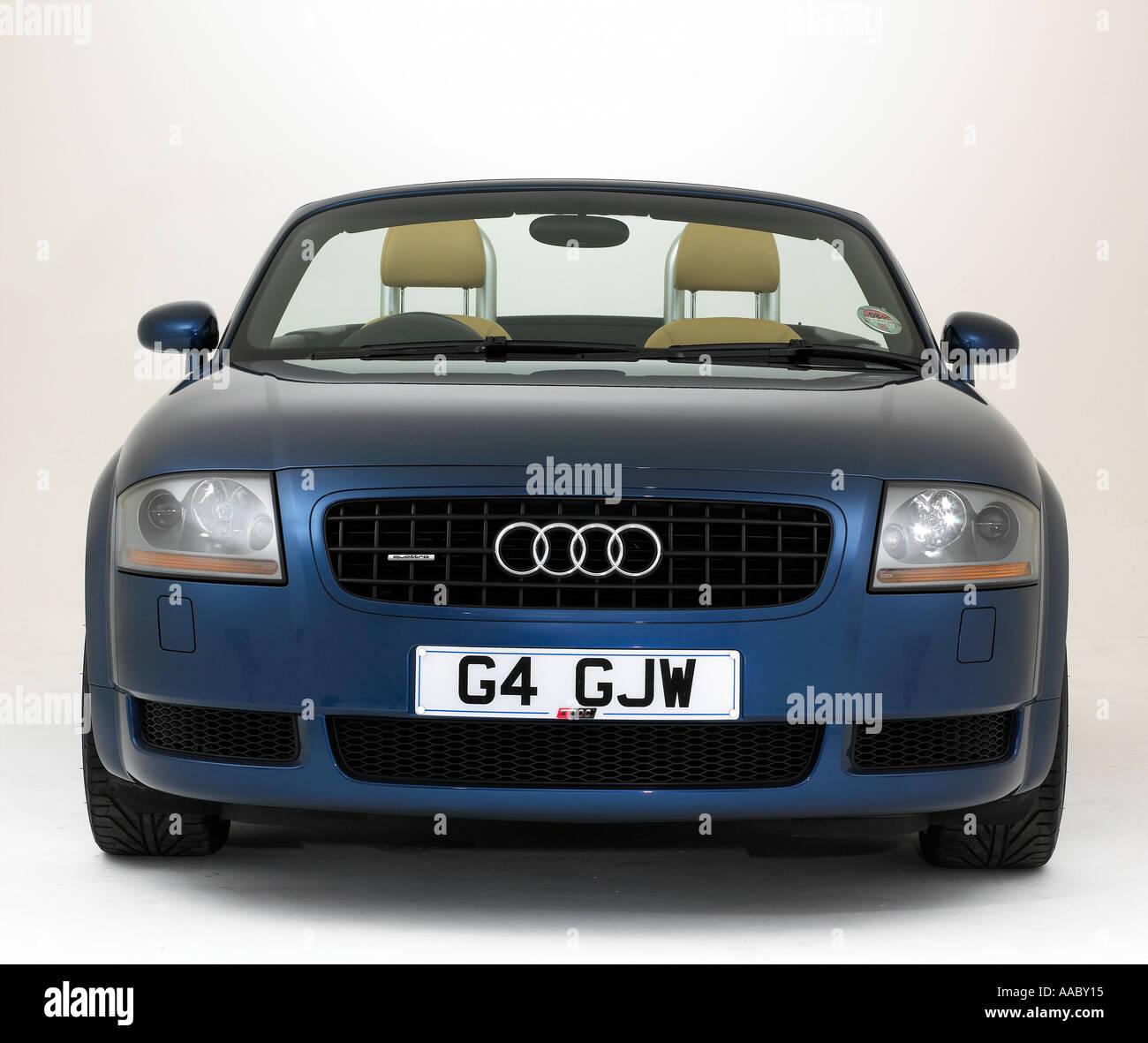 2003 Audi TT Roadster Stock Photo