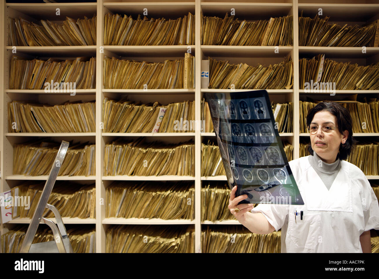 Altona children s hospital The archive of the Radiology - Stock Image