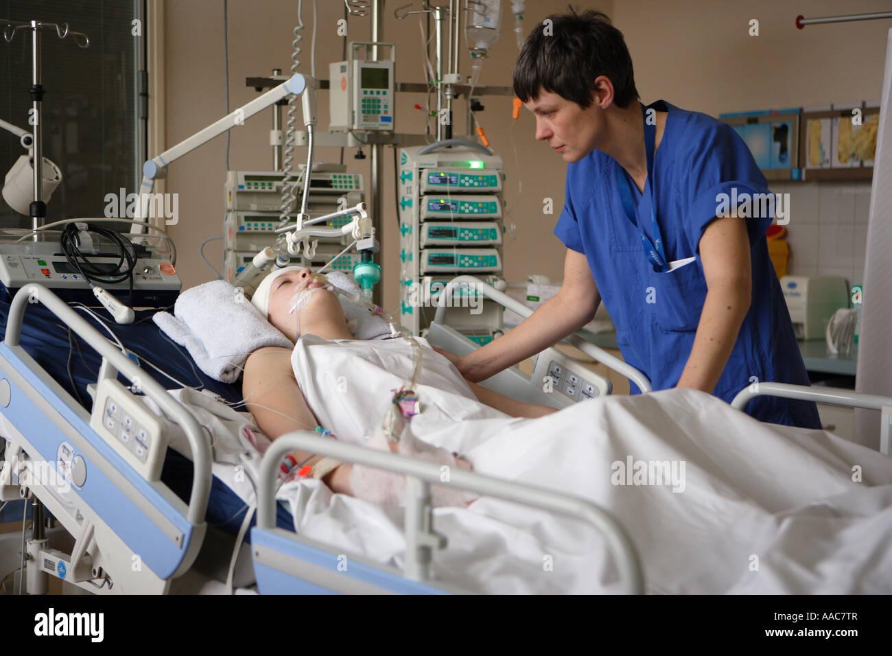 Altona children s hospital Intensive care unit - Stock Image