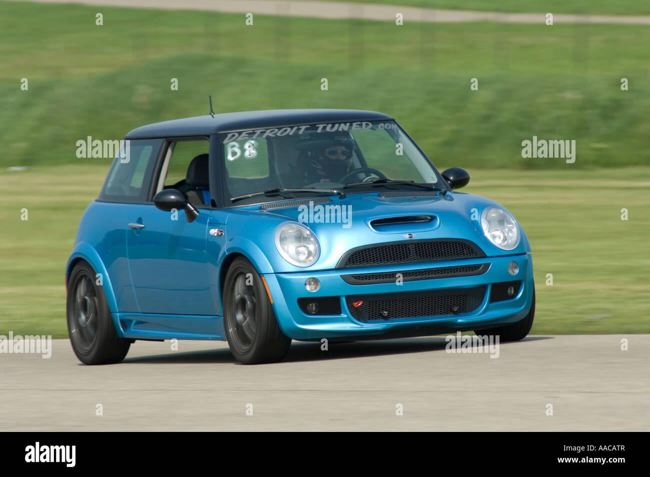 Mini Cooper S At A Track Day Event Stock Photo 12585286 Alamy