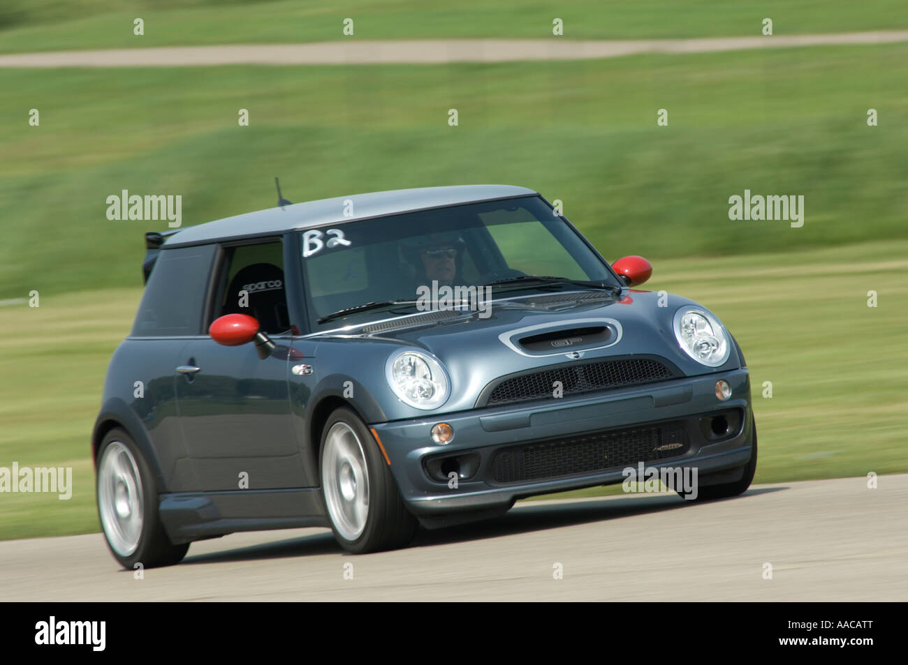 Mini Cooper S John Cooper Works Gp At A Track Day Event Stock Photo