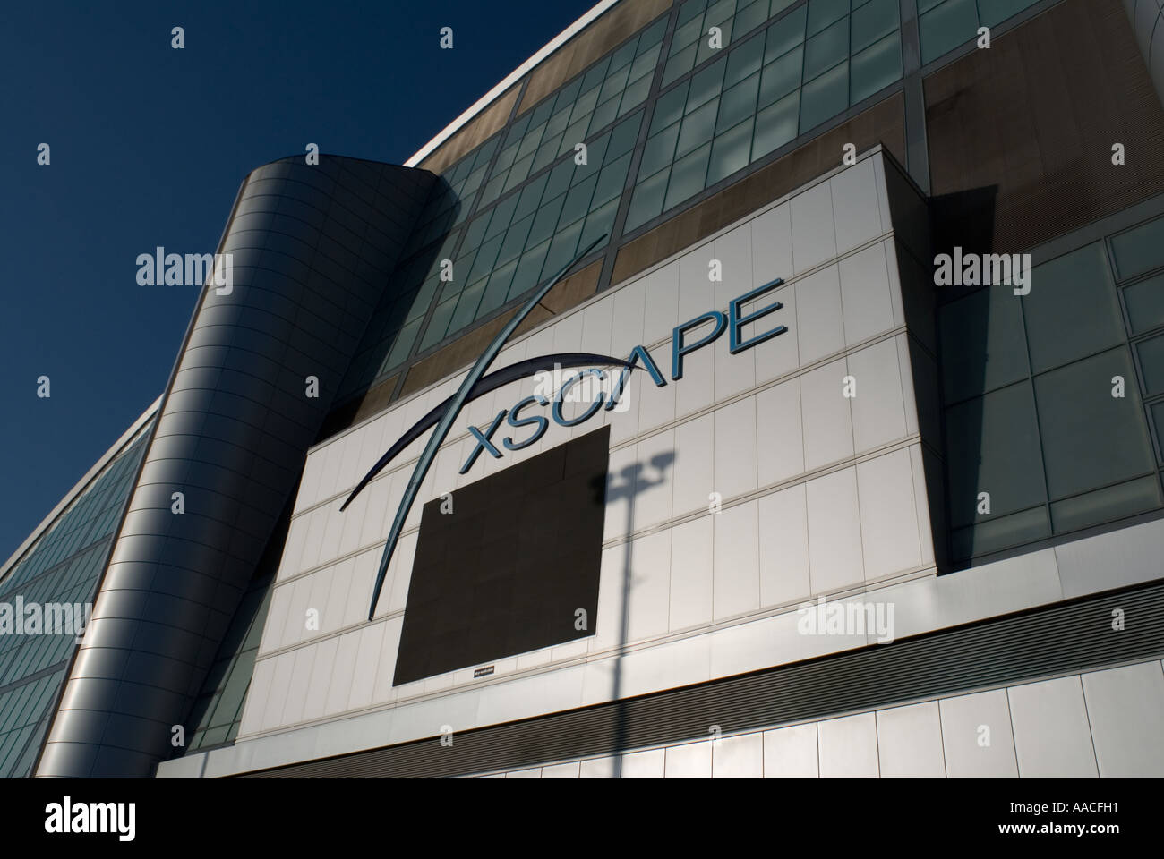 PICTURE CREDIT DOUG BLANE The Xscape building in Central Milton Keynes, the Centre MK - Stock Image