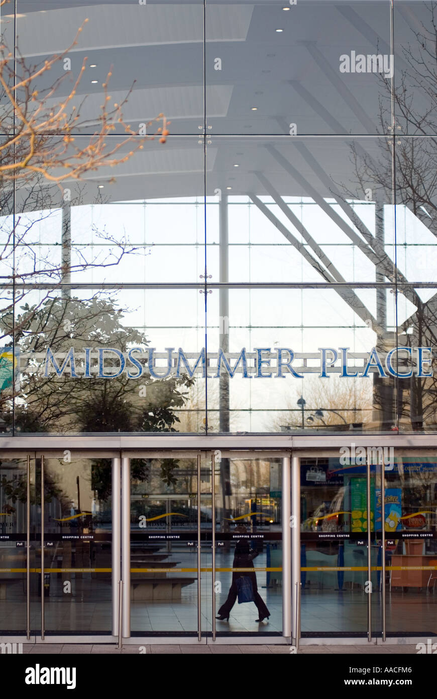 PICTURE CREDIT DOUG BLANE Midsummer Place in Central Milton Keynes shopping centre, the centre MK - Stock Image