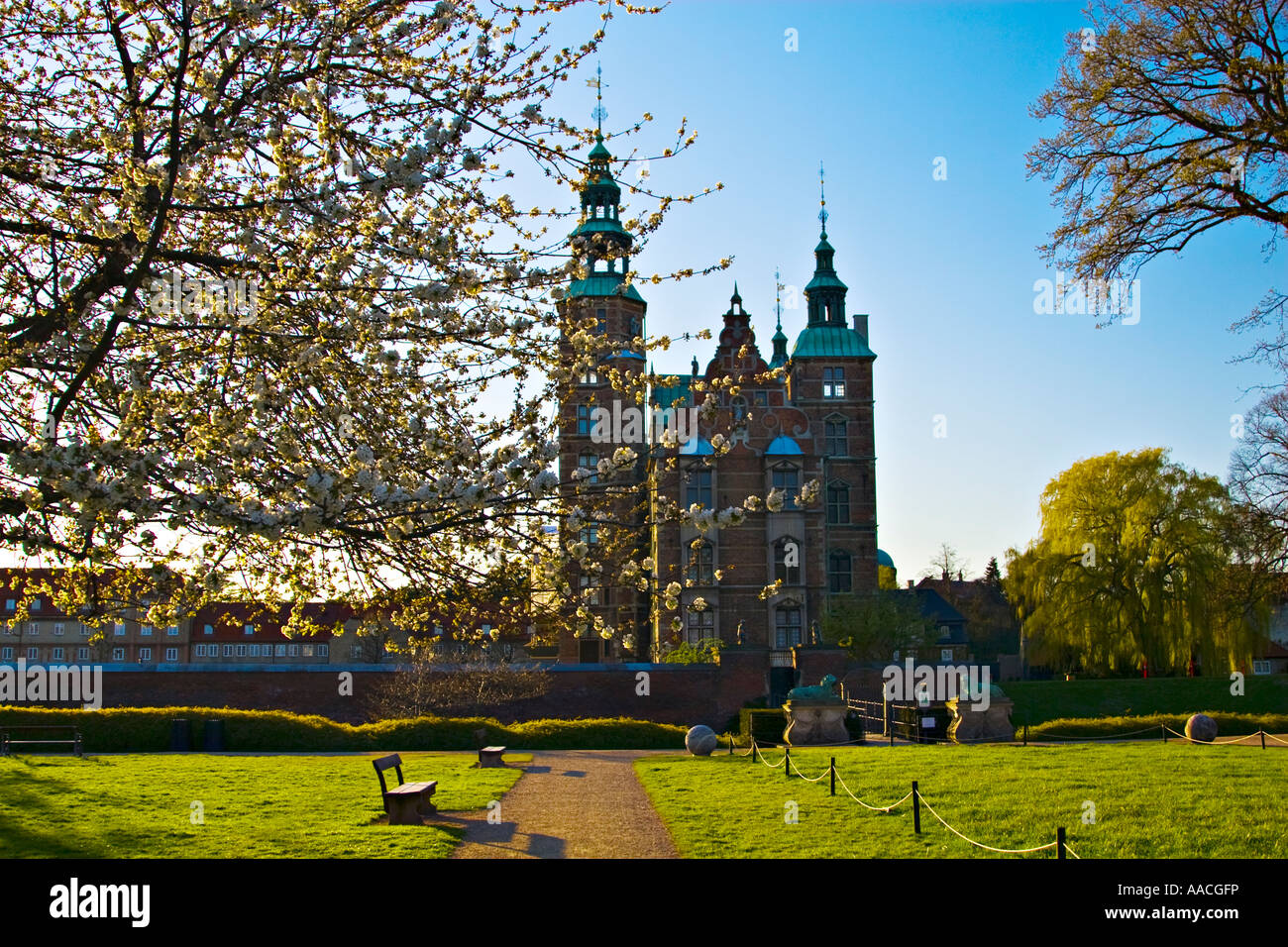 Rosenborg Slot ( Castle ) , Copenhagen , Denmark , Scandinavia , Europe - Stock Image