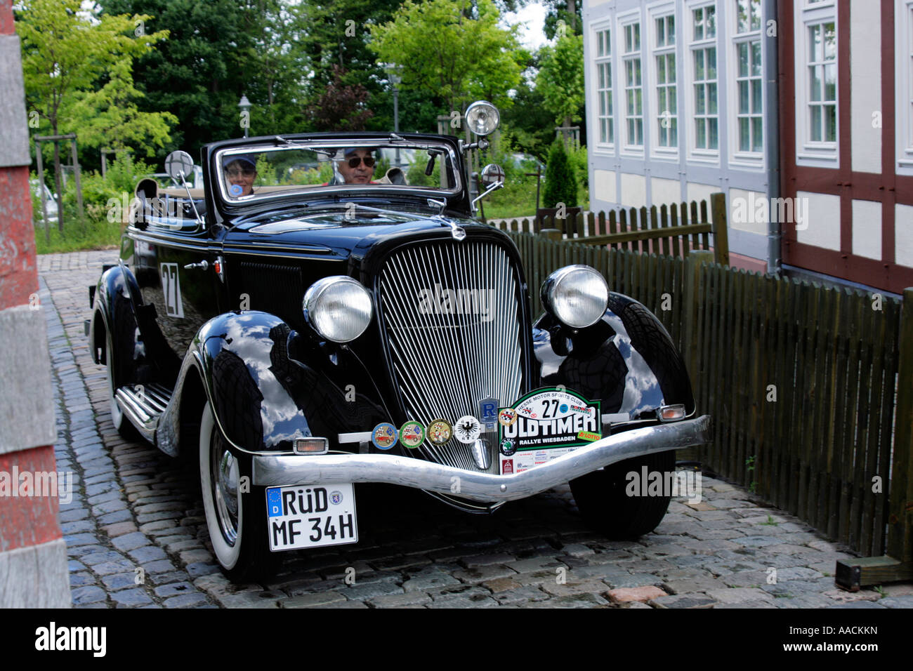 Vintage car Hudson Terraplane Roadster of 1934, vintage car race ...
