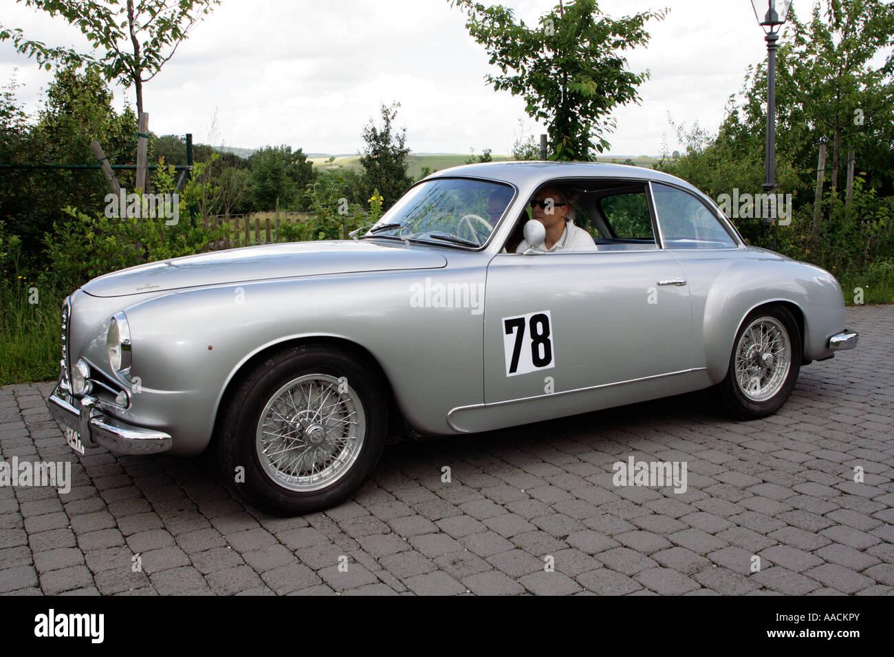 Vintage car Alfa Romeo 1900 Super Sprint of 1955, vintage car race Wiesbaden 2007, Hessenpark, Neu-Anspach, Taunus, - Stock Image