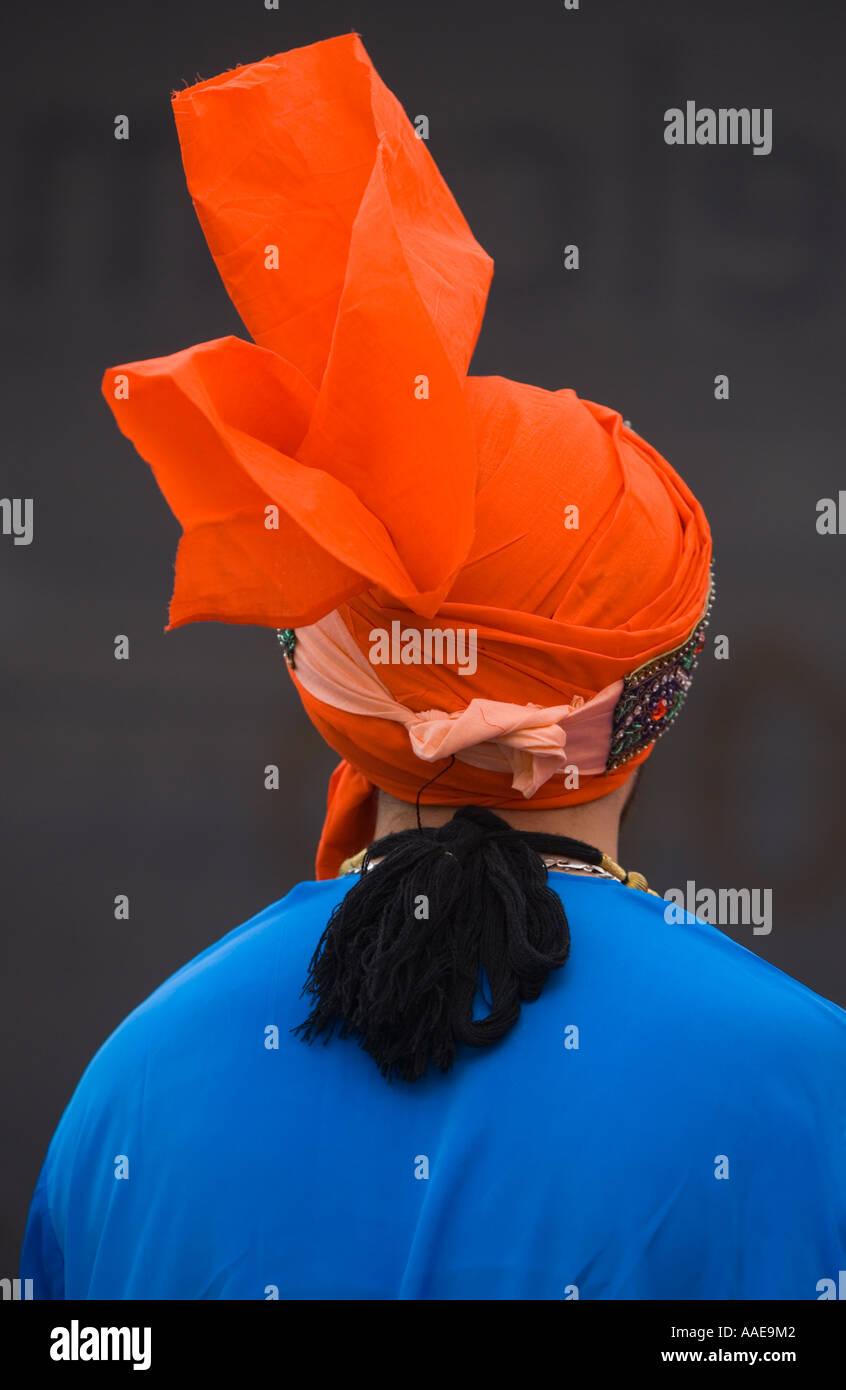 'Trafalgar Square', London  - [Sikh New Year Vaisakhi 2006] Celebrations - Stock Image