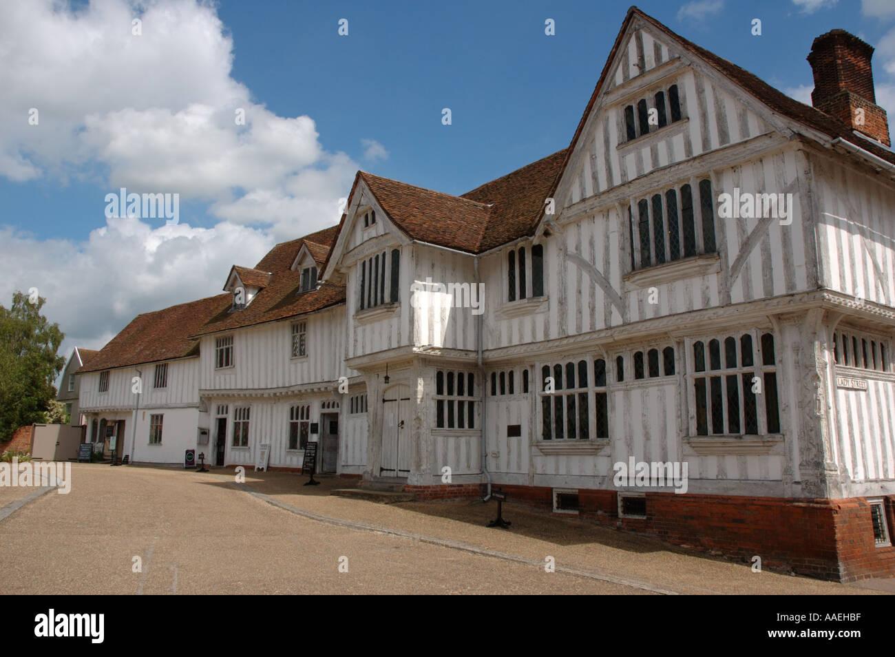 Lavenham Guildhall, Suffolk, UK Stock Photo
