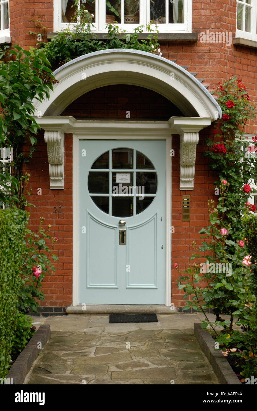 The Sigmund Freud Museum in Maresfield Gardens Hampstead London England Stock Photo