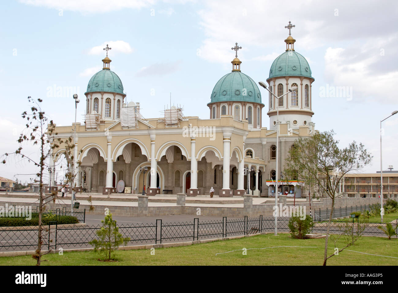 New Ethiopian Orthodox Church Or Cathedral Under