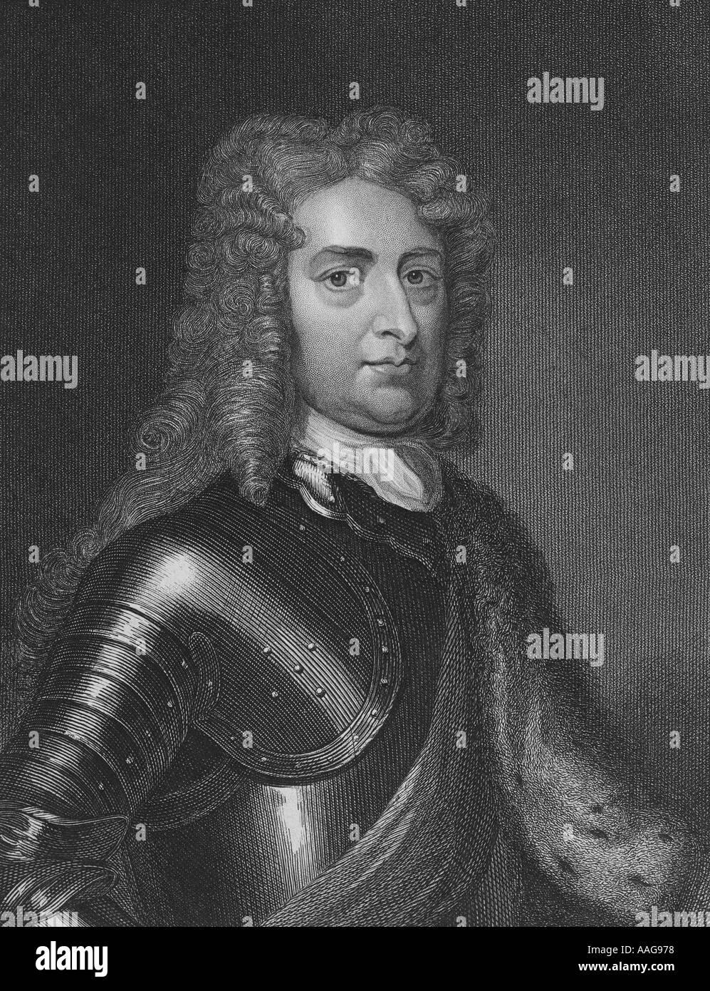 John Churchill 1st Duke of Marlborough 1650 1722 - Stock Image