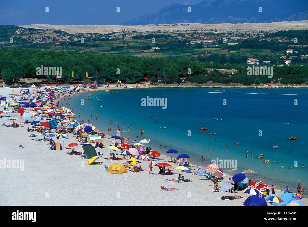zrce beach croatia