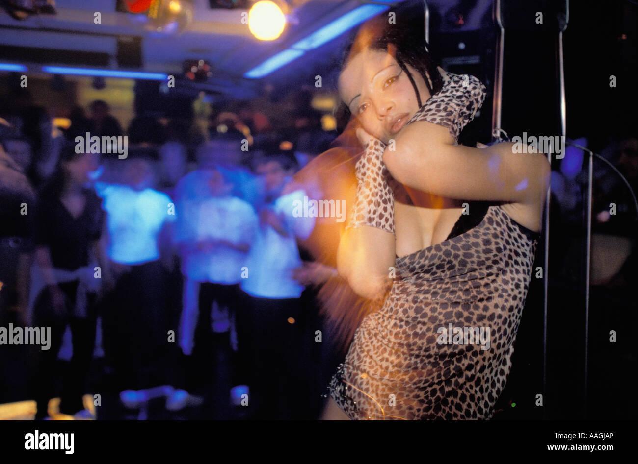 Frauen flirten disco