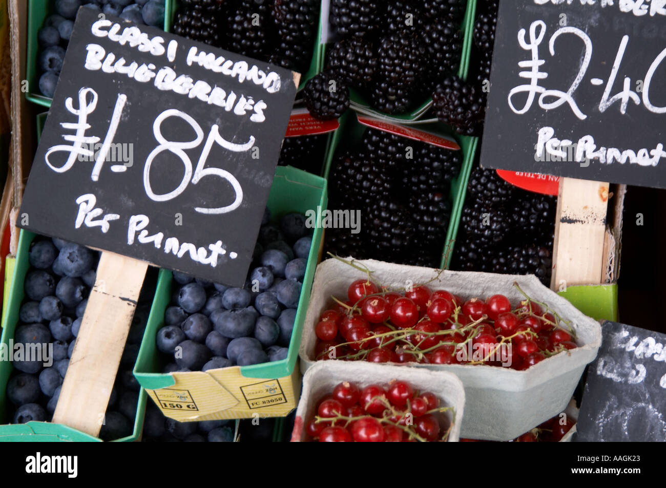 fruit berry berries market stall price cost blueberry blueberries