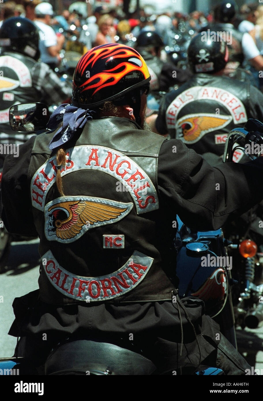 Motorcycle Gangs Stock Photos & Motorcycle Gangs Stock Images - Alamy