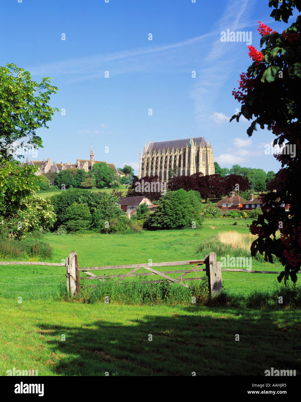 GB SUSSEX SOUTH DOWNS ADUR VALLEY LANCING COLLEGE Stock Photo
