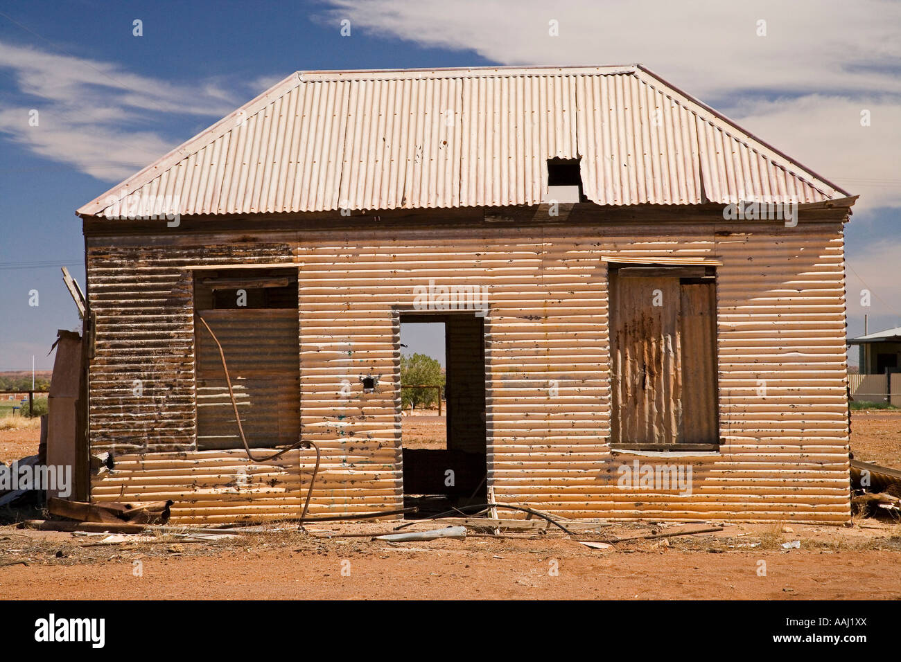 Derelict House Oodnadatta Track Outback South Australia