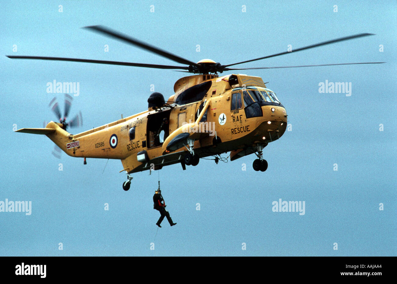 Sikorsky rescue helicopter - Stock Image