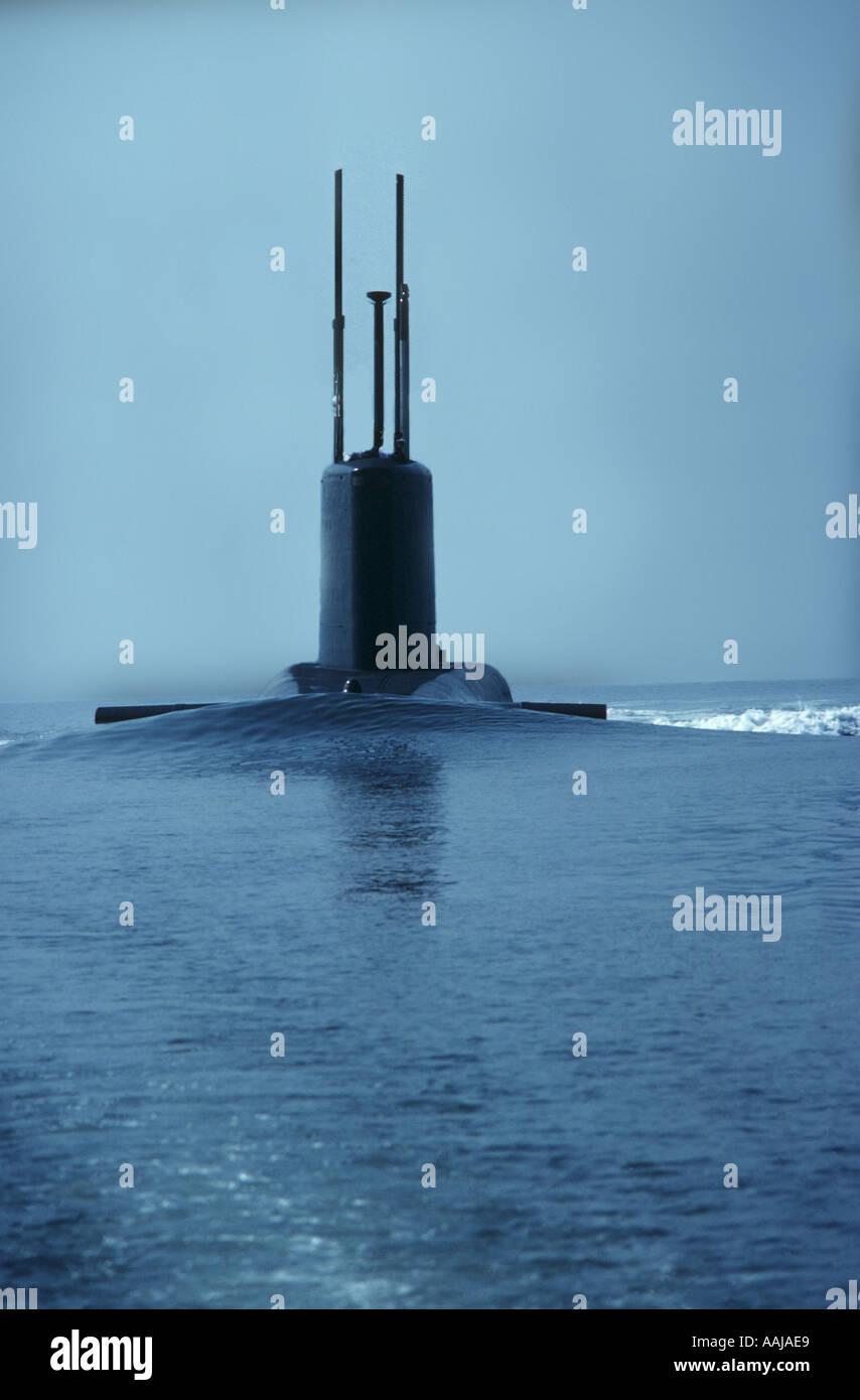 Royal Navy Polaris submarine - Stock Image