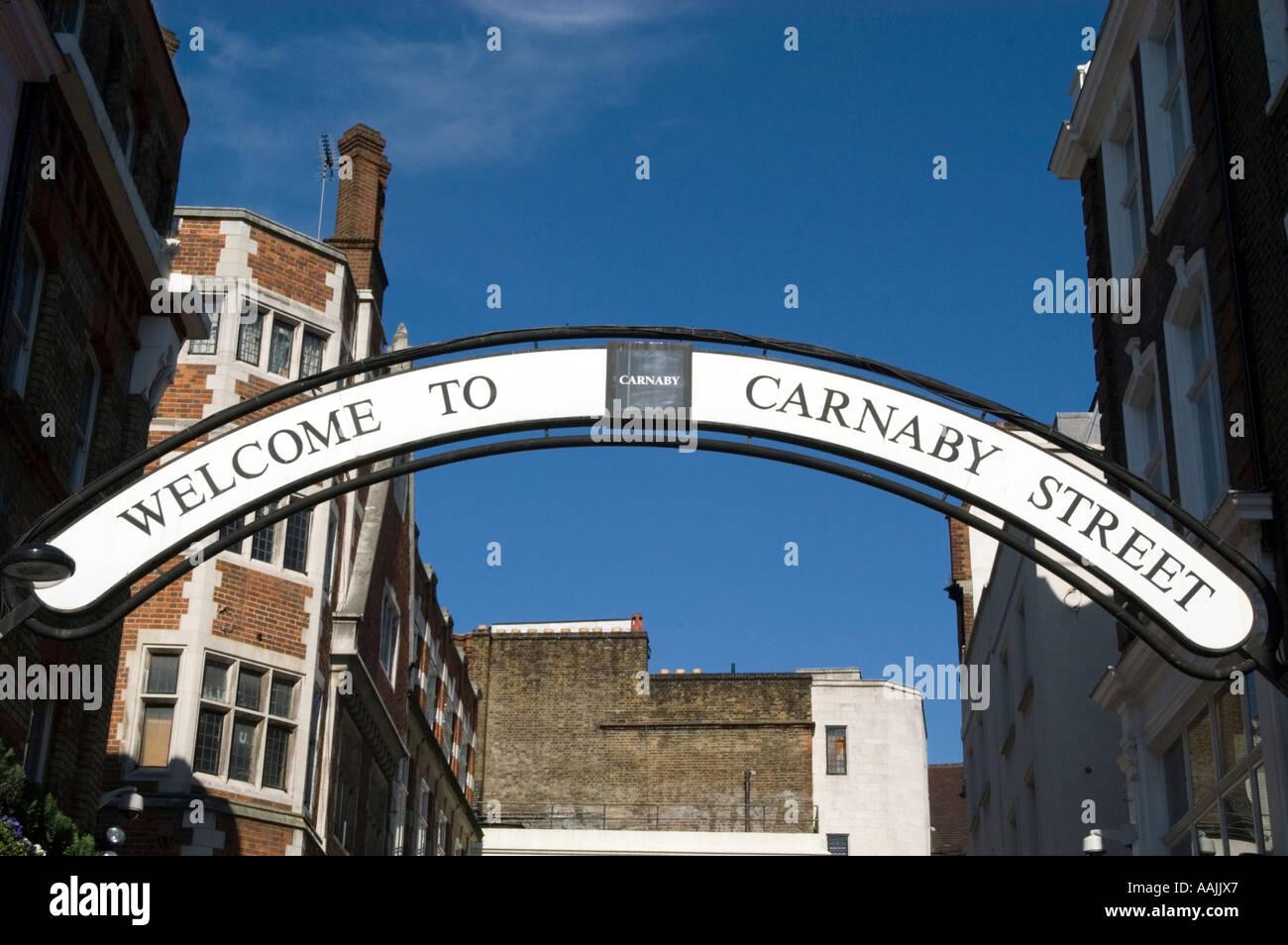 Carnaby Street London England UK - Stock Image