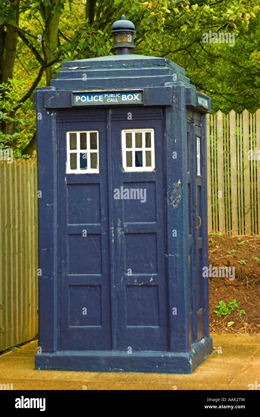 Police Box - Stock Image