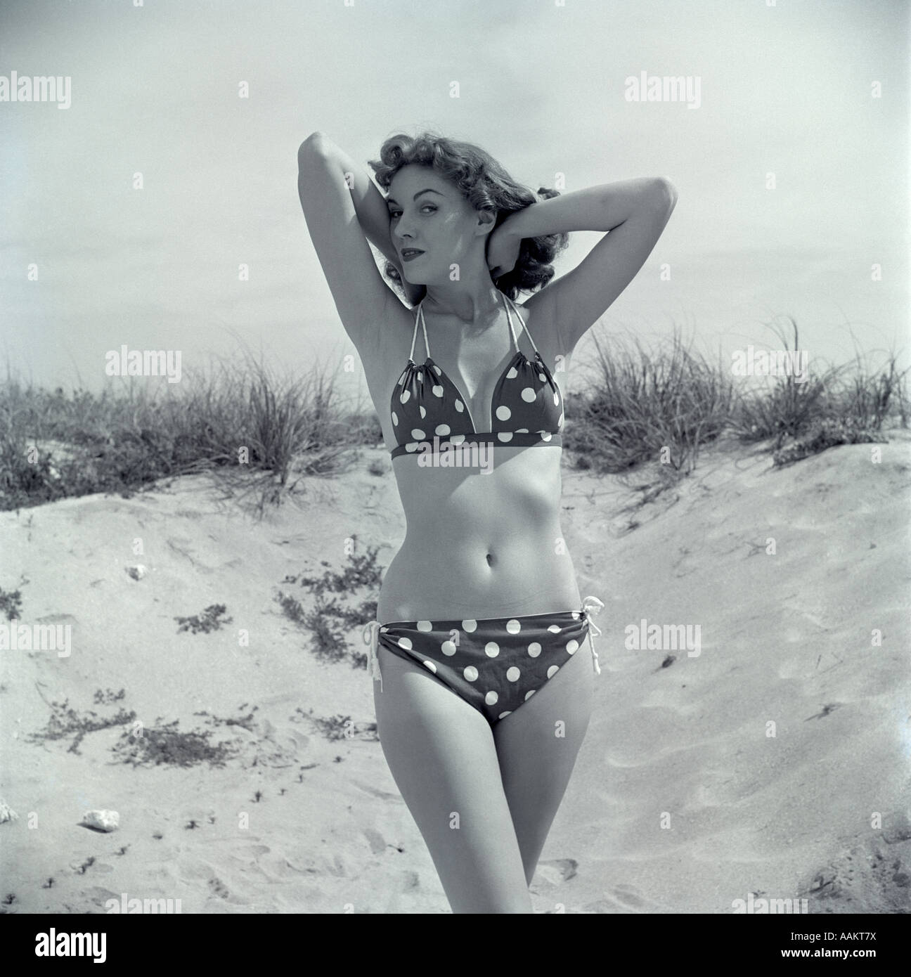 1950s Bikini Stock Photos & 1950s Bikini Stock Images