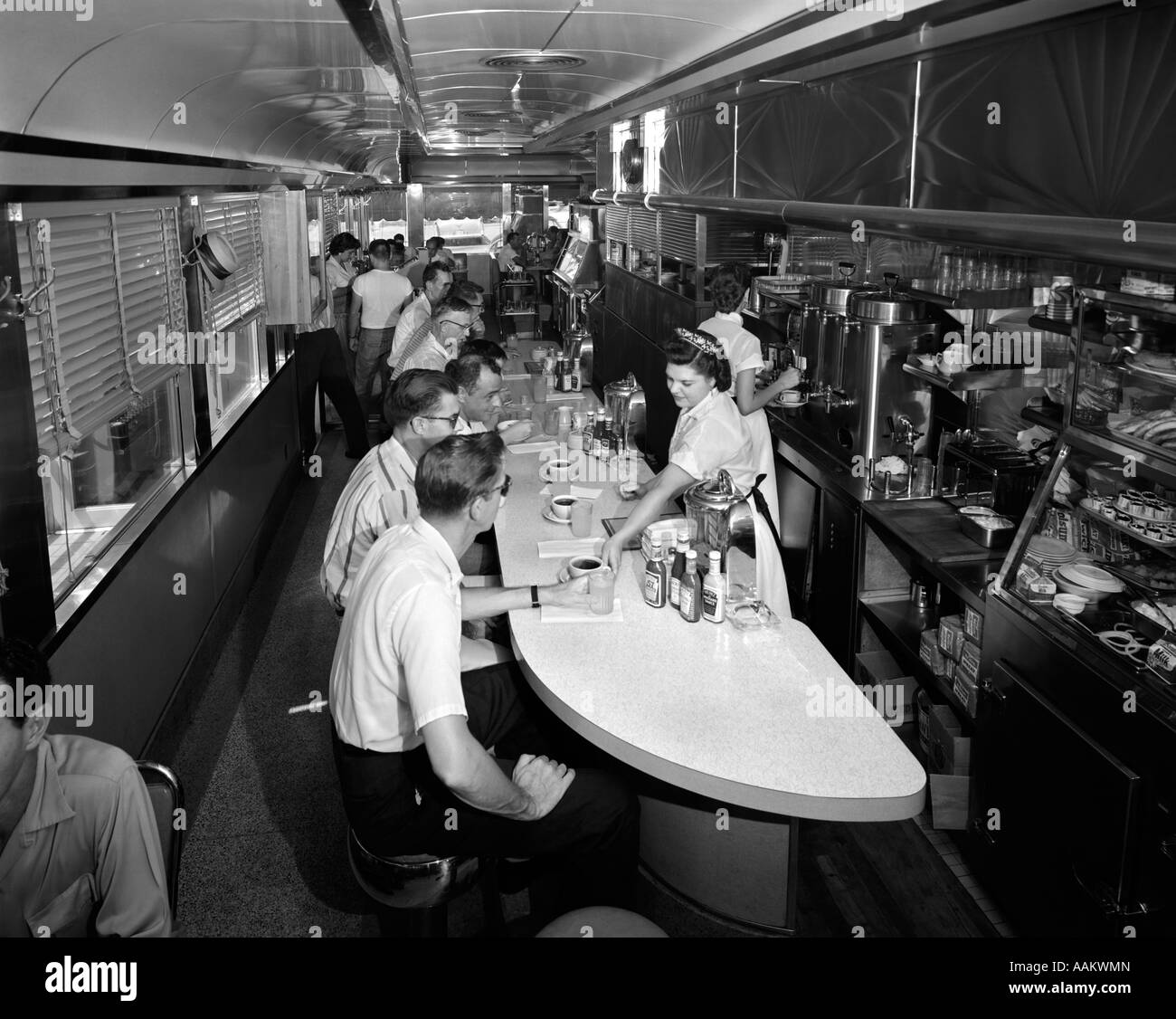 1960s Diner High Resolution Stock Photography And Images Alamy