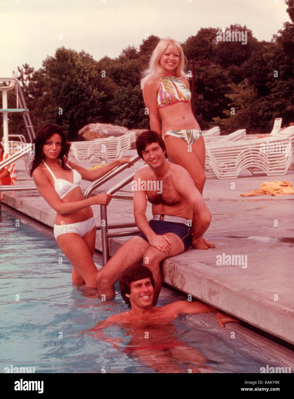 Outdoor Swimming Pool 1960s Stock Photos Outdoor Swimming Pool 1960s Stock Images Alamy