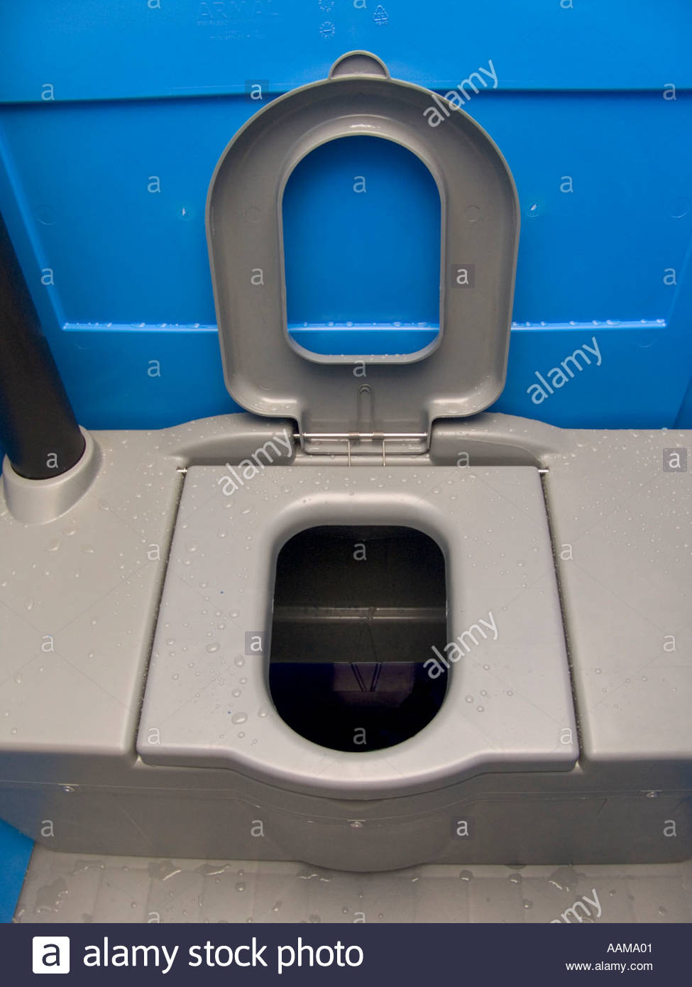 Inside A Chemical Toilet House