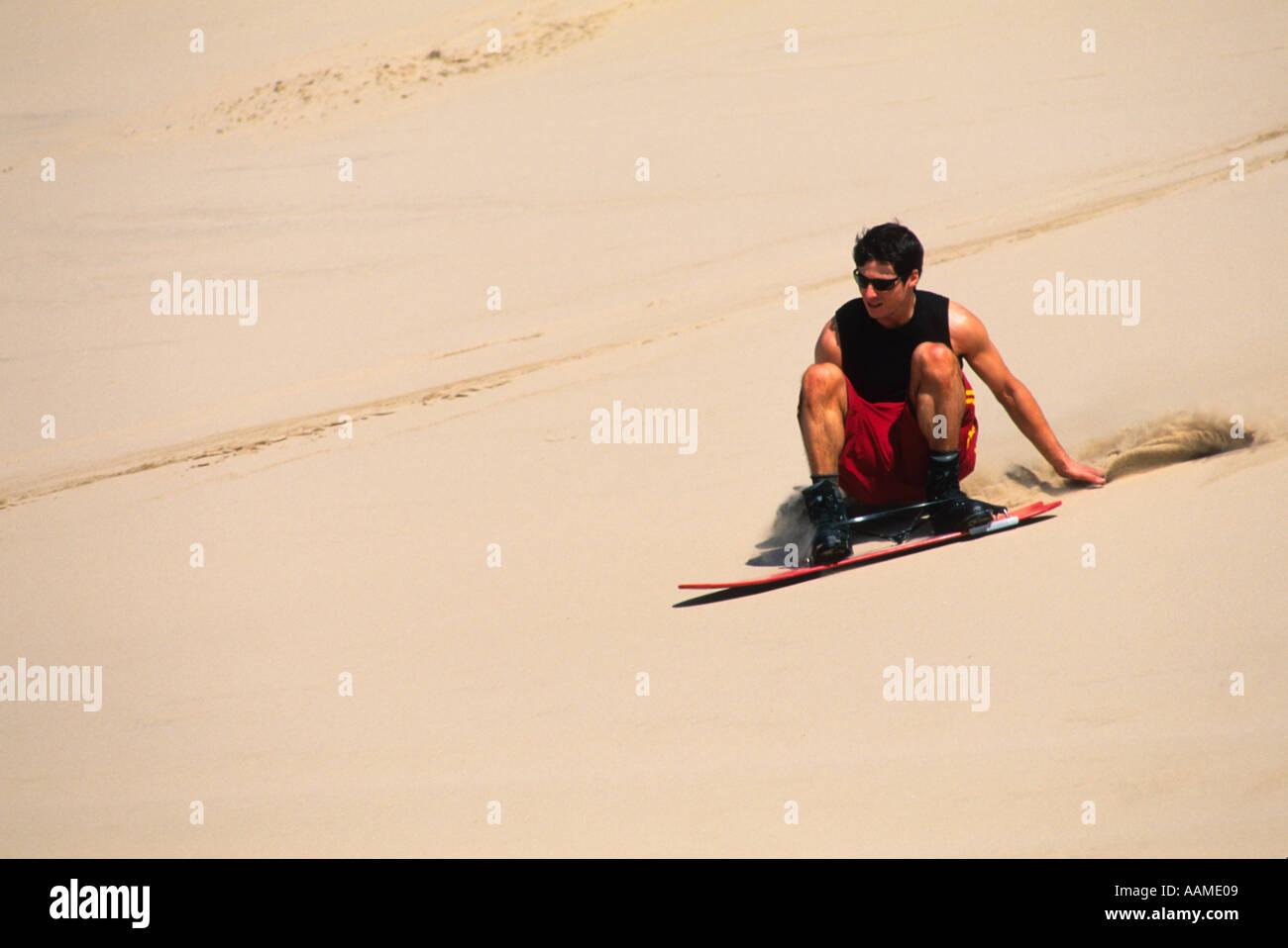 sandboarding - Stock Image