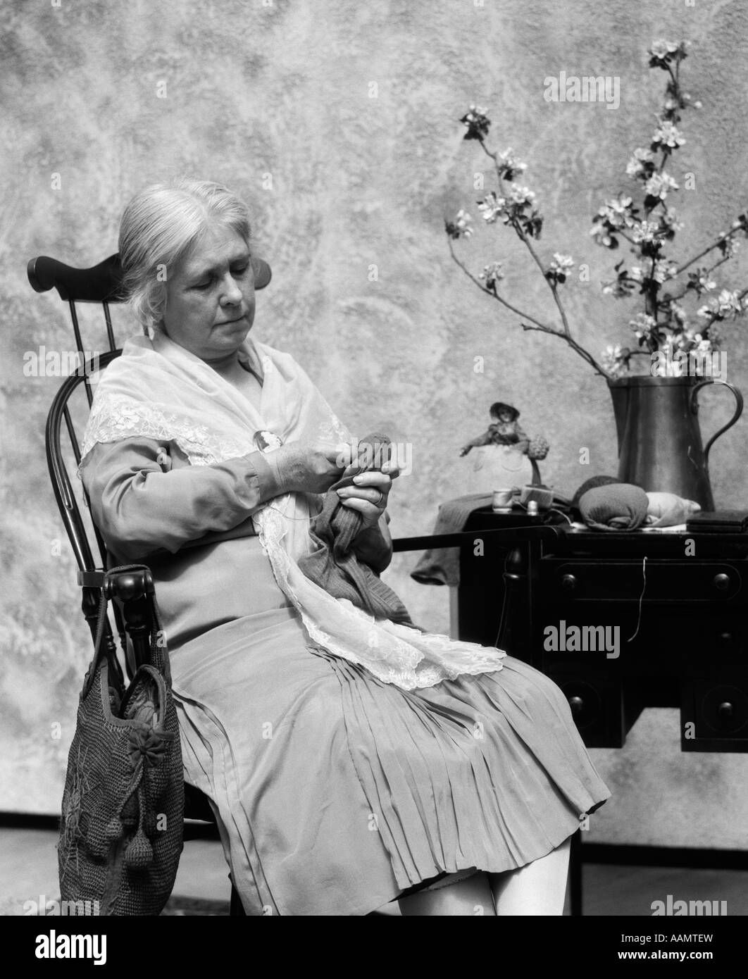 Old Woman Rocking Chair Stock Photos Amp Old Woman Rocking