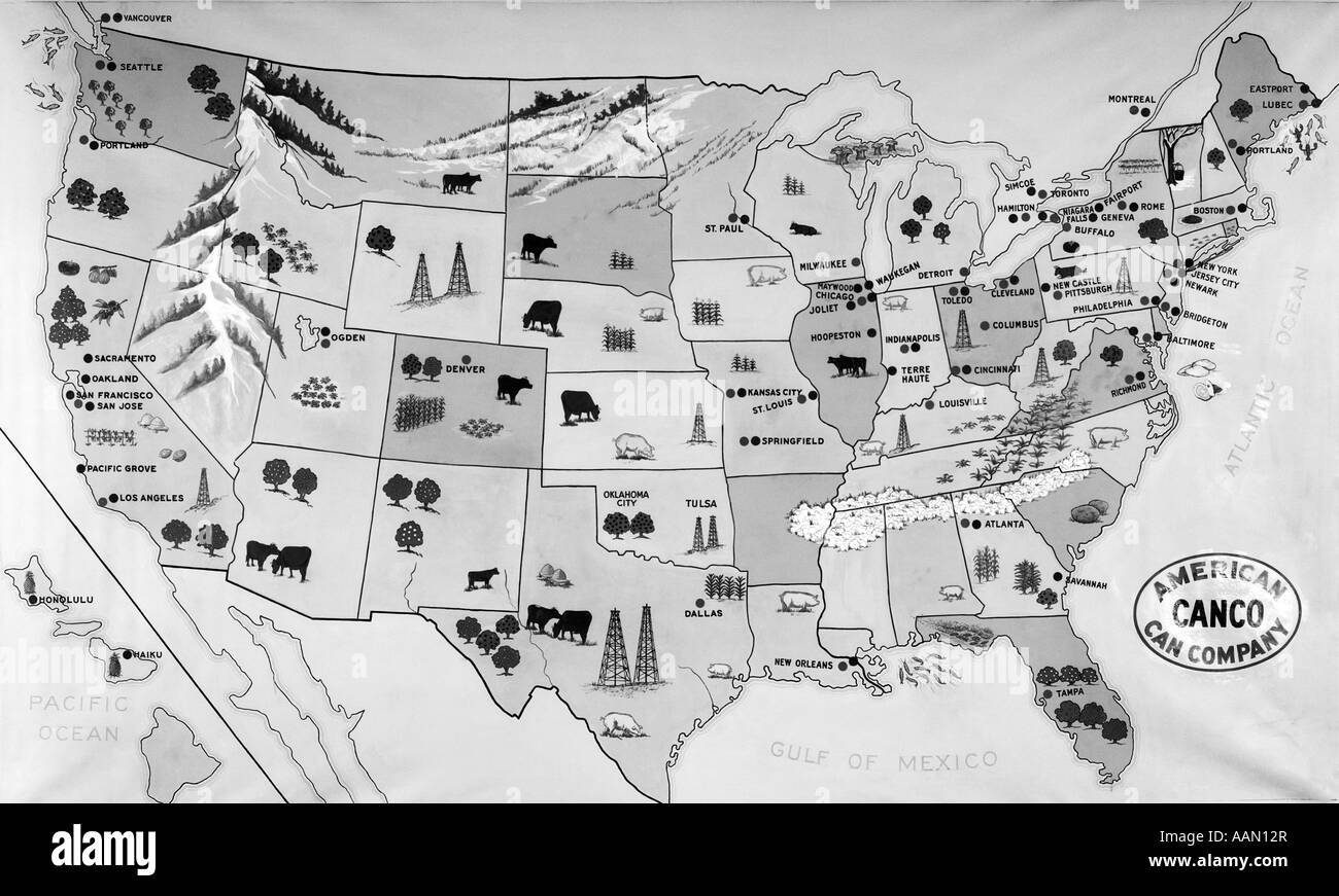 Map Of United States Stock Photos & Map Of United States Stock ...
