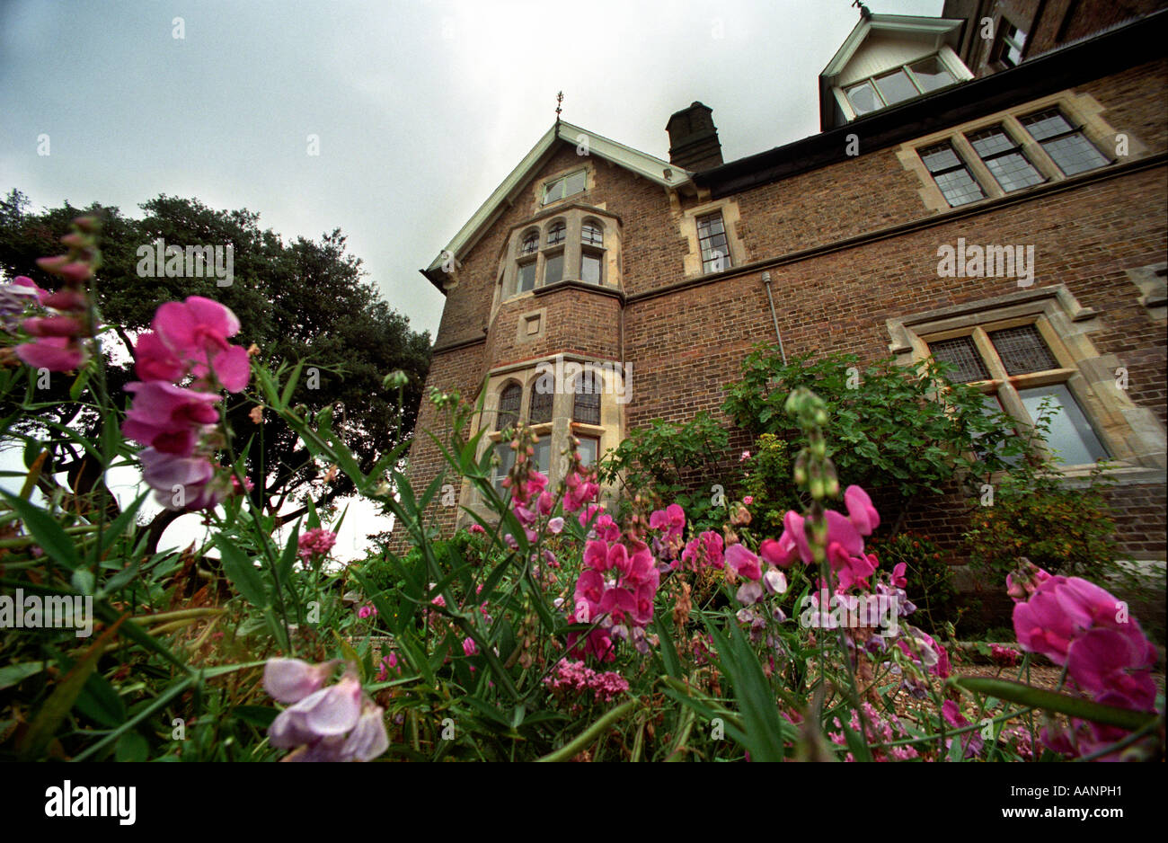 The Victorian architect Pugins house in Ramsgate Kent - Stock Image