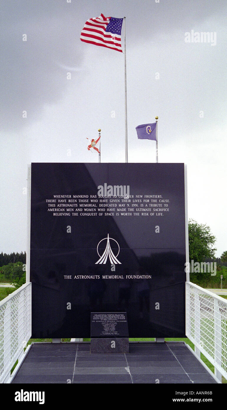 1991 Astronauts Memorial Foundation Dedication NASA Kennedy Space Center