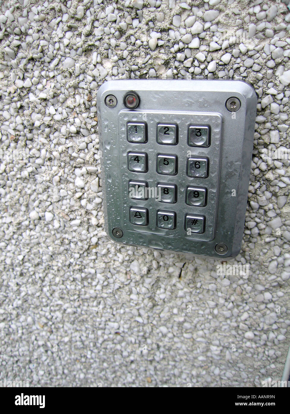 Number Keypad Door Entry Panel