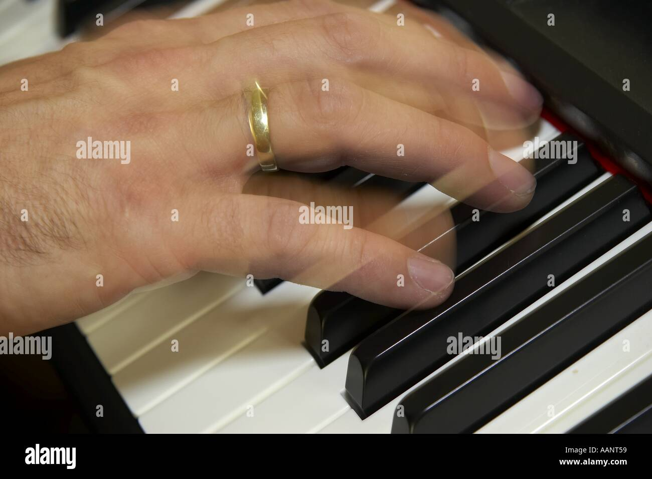 electronic music - Stock Image