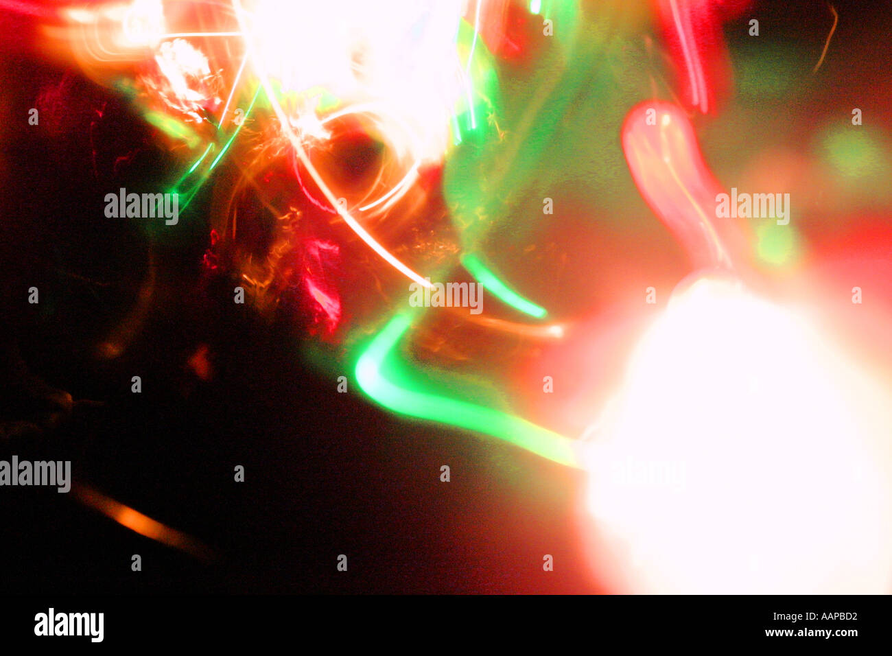Abstract light reminiscent of The Big Bang - Stock Image