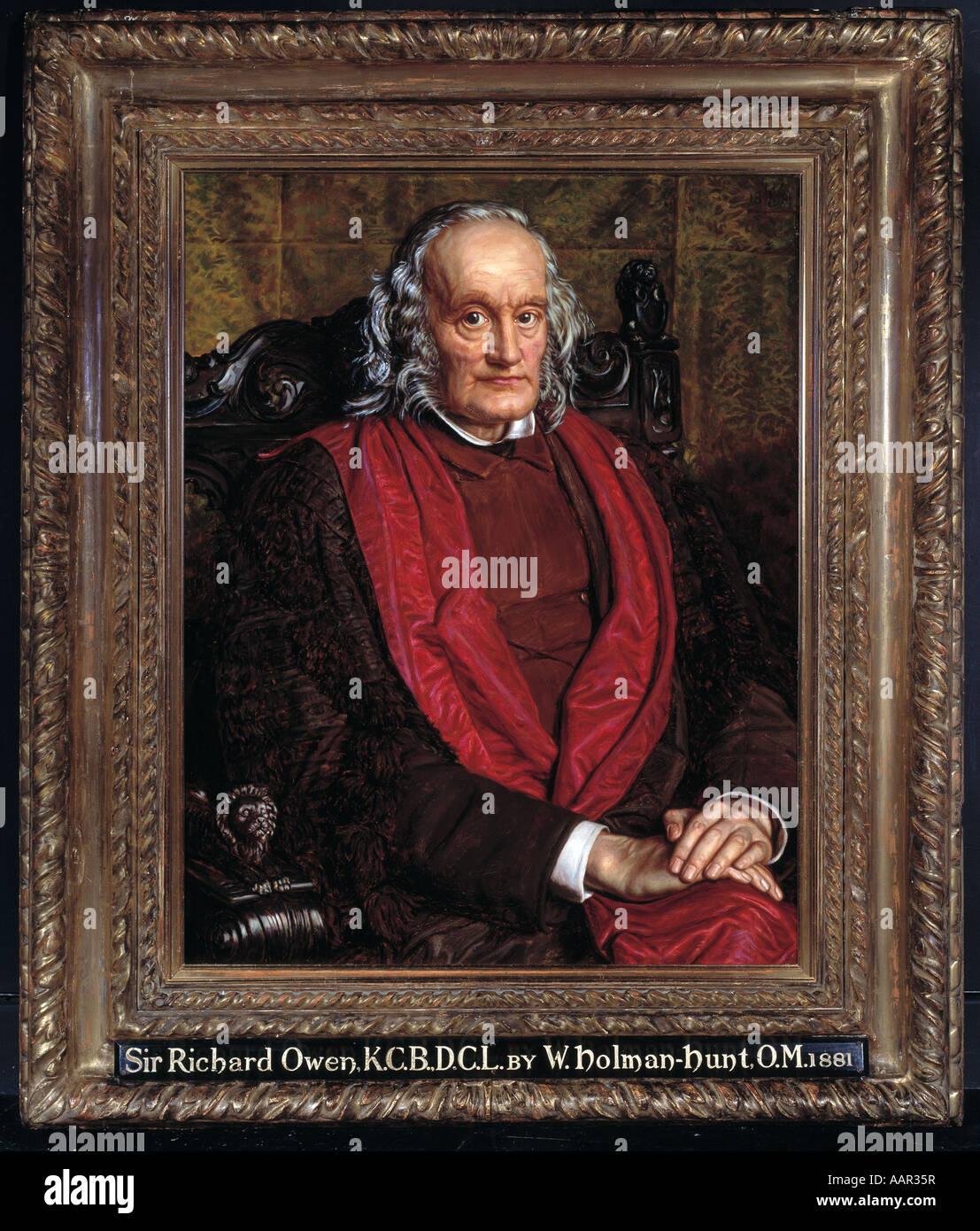 Sir Richard Owen 1804 1892 - Stock Image