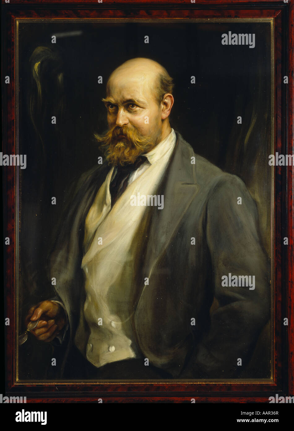 Lord Lionel Walter Rothschild 1868 1937 - Stock Image