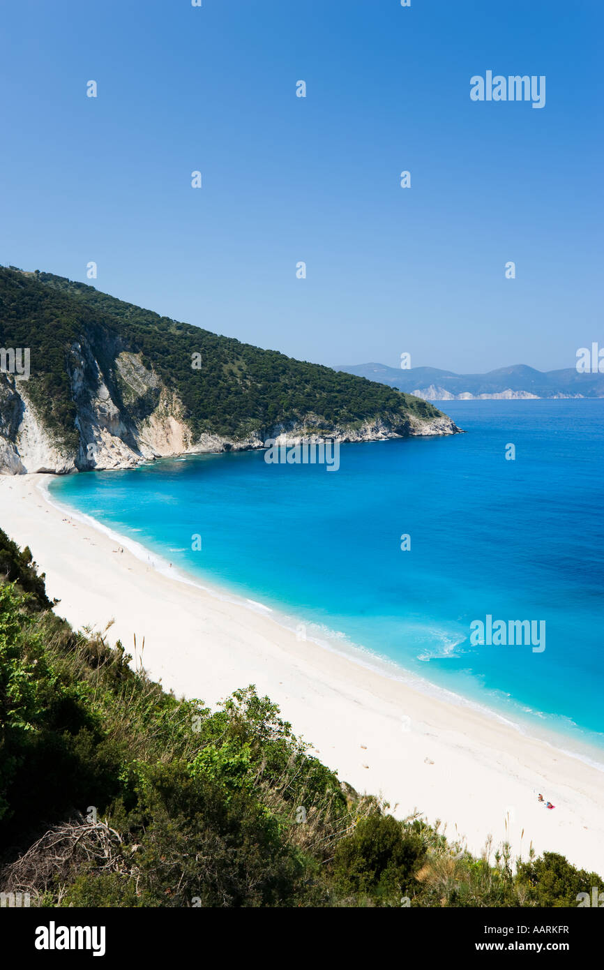 Mirtos Beach, Kefalonia, Ionian Islands, Greece - Stock Image