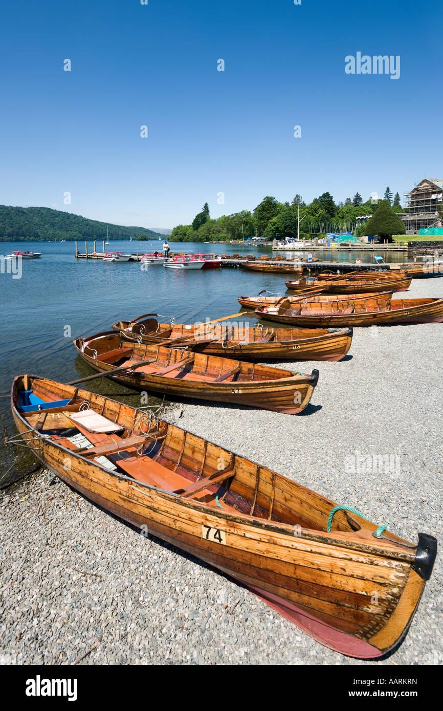 Bowness, Lake Windermere, Lake District, Cumbria, England, UK - Stock Image